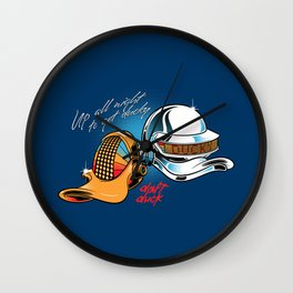 Up All Night To Get Ducky Wall Clock