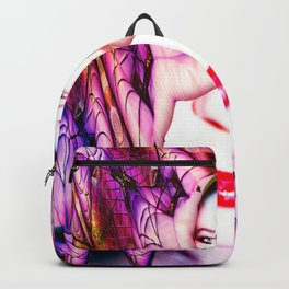 Crystal Bat Mask Backpack