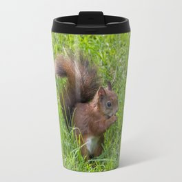 Red Squirrel. Travel Mug
