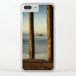 Pier to Pier Harford Pier through Avila Pier San Luis Obispo Clear iPhone Case