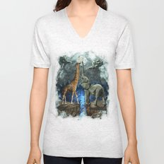 The Magical Forces of the Moon Unisex V-Neck