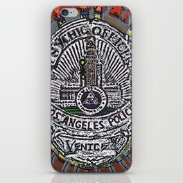 LAPD Psychic Officer  iPhone Skin