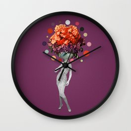 Pothead Too Wall Clock