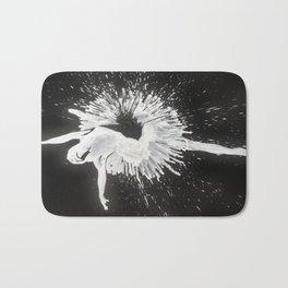 White Ballerina Bath Mat