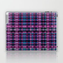 Electric Pink - Purple Plaid Laptop & iPad Skin