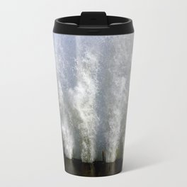 When Sandy Made Waves in Chicago #2 (Chicago Waves Collection) Travel Mug