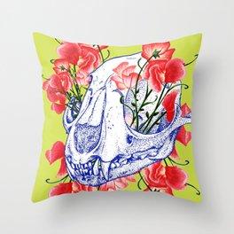 Deathvslife5 Throw Pillow