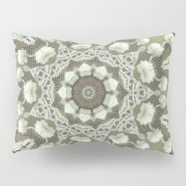 figure on the background Pillow Sham