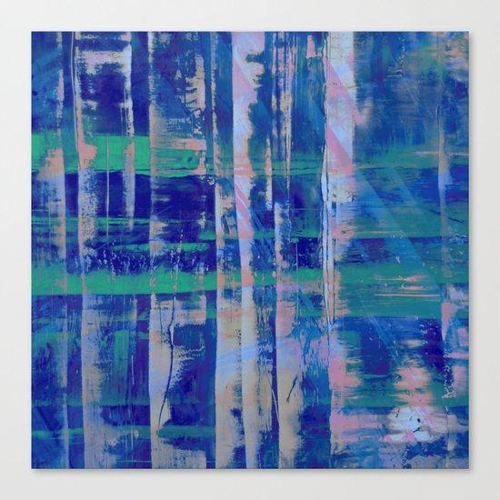 Broken Blue Canvas Print