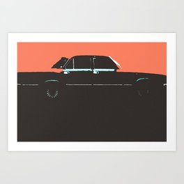 Volga pop Art Print