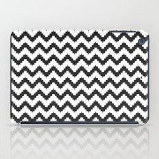 Funky chevron - black iPad Case