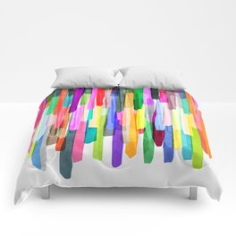 Colorful Stripes 4 Comforters