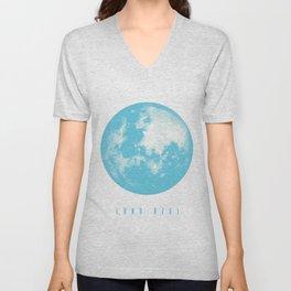 Luna Azul Unisex V-Neck