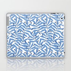 Blue Leaves Laptop & iPad Skin