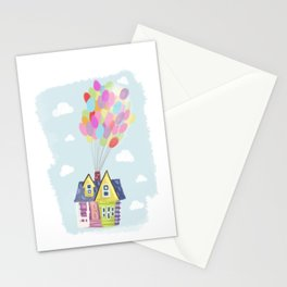 Up in the sky Stationery Cards