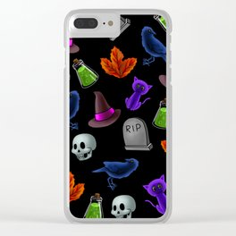 Halloween #2 Clear iPhone Case