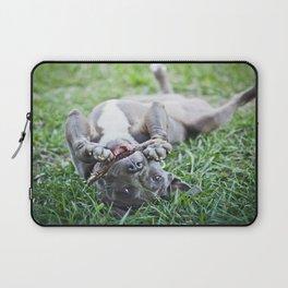 Pit Bull Puppy Laptop Sleeve