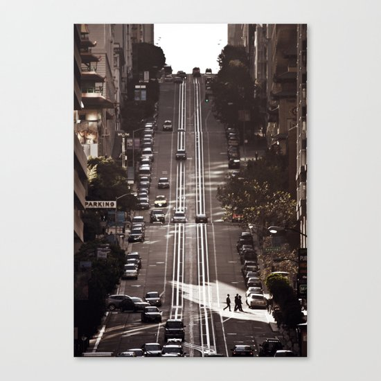 San Francisco Hills Canvas Print