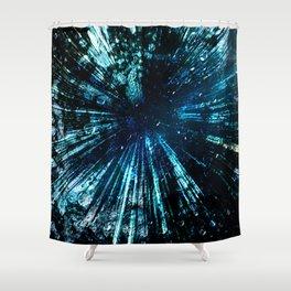 Universum Green Shower Curtain
