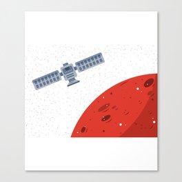 Mars Exploration 2 Canvas Print