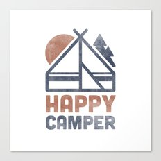 Happy Camper Canvas Print