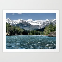 Canadian Rockies Art Print