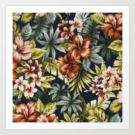 Floral V1 Art Print