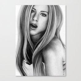 Jennifer Aniston Canvas Print