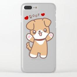 Boof Clear iPhone Case