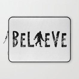 I Believe Yeti Bigfoot Sasquatch Laptop Sleeve