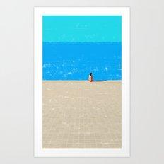 beach-1 Art Print