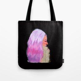 Pink Hair! Tote Bag