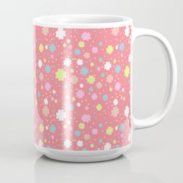 Spring Floral Pink Coffee Mug