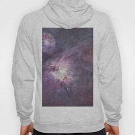 The Orion Nebula Messier 42 diffuse nebula in constellation Orion. Hoody