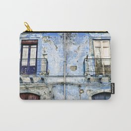 BLUE FACADE of SICILY Carry-All Pouch