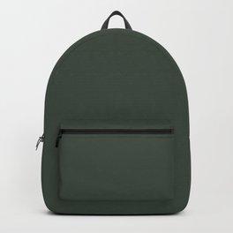 Gray Green Chalk Board Backpack