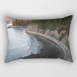Seawall Rectangular Pillow