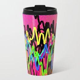 waves - ! Travel Mug