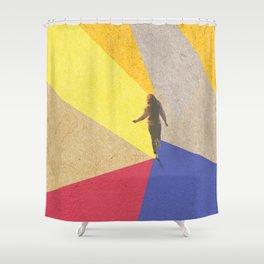 human dynamic #3 Shower Curtain