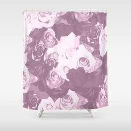 Rose bouquet - beautiful roses from rose garden - vintage style Shower Curtain