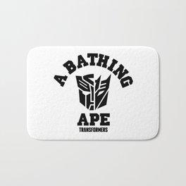 a bathing ape transformers Bath Mat