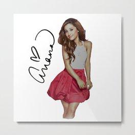 Ariana Grandee Metal Print