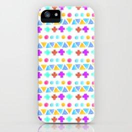 Retro pattern pencil  iPhone Case