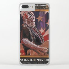 Willie Clear iPhone Case