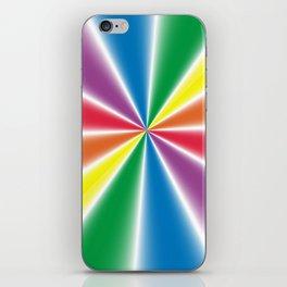 Gradient Rainbow Wedges iPhone Skin
