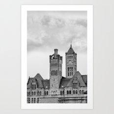 Nashville's Union Station Art Print