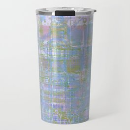Paint the wall with many colors and shapes Travel Mug