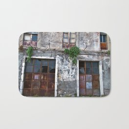 Old Sicilian facade of Taormina Bath Mat