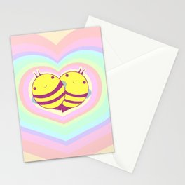 bee mine  Stationery Cards