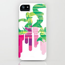 Twist Of Lime iPhone Case